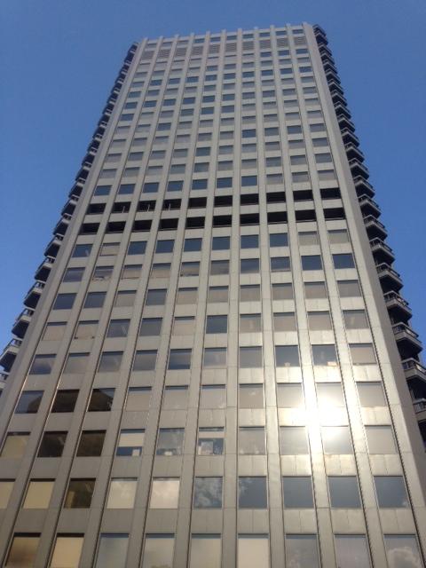 貿易センタービルの外観写真